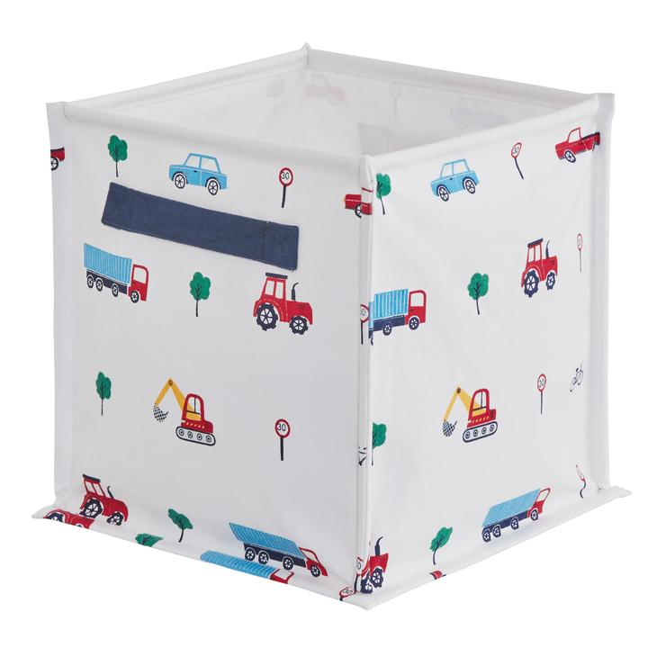 Foldable storage cubes  Piccolo House