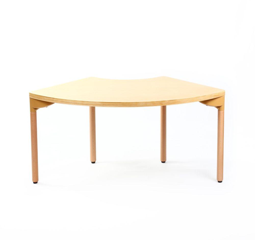 Singapore Wooden Fan Table