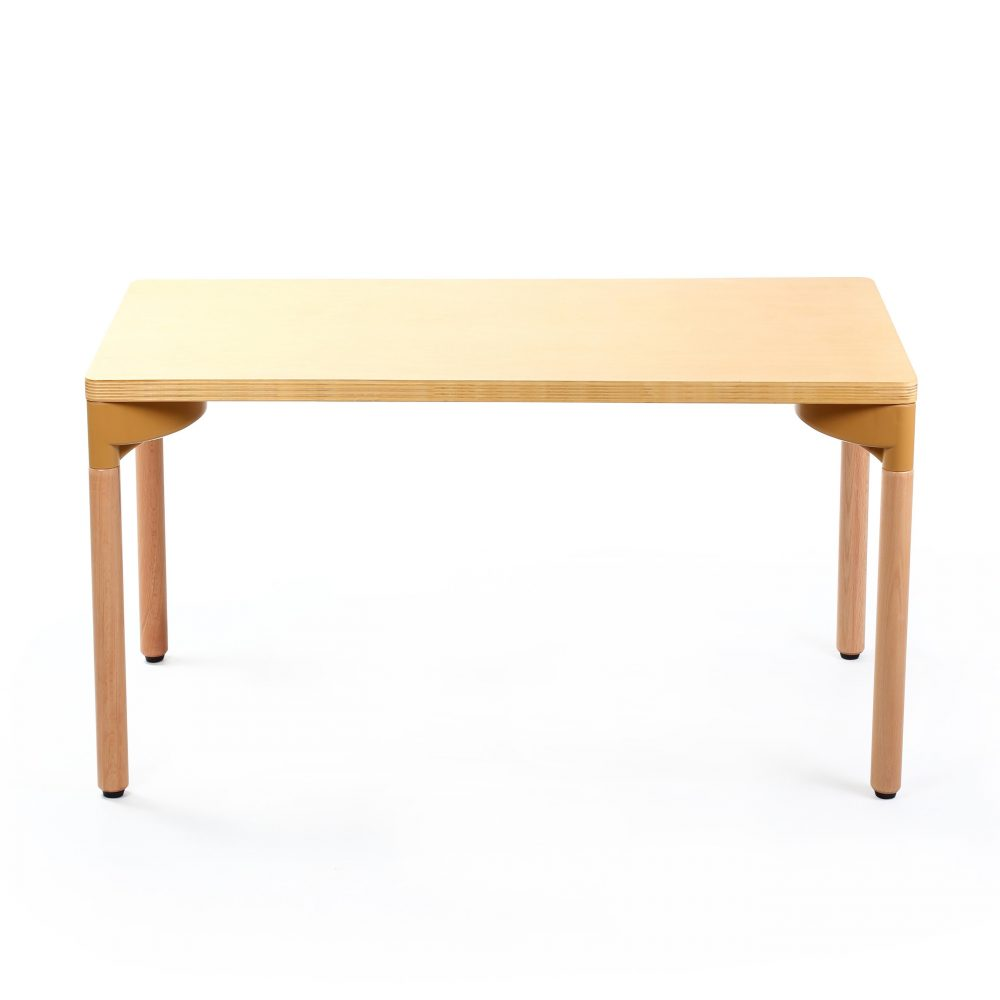 Singapore wooden rectangle table