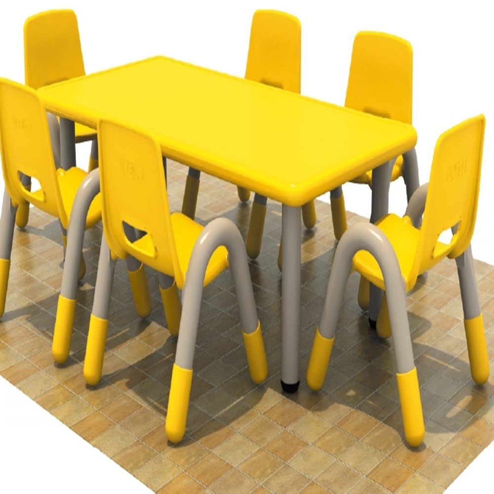 Singapore plastic rectangle table