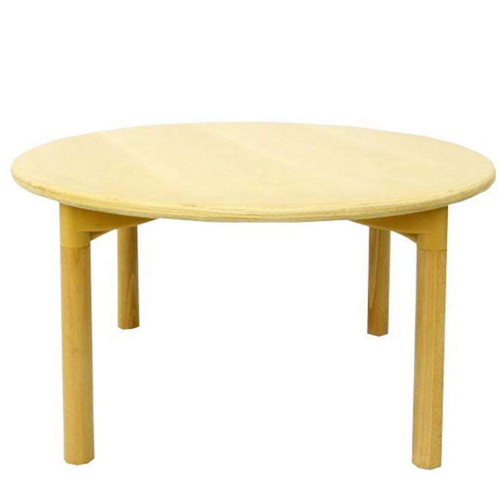 Singapore wooden round table