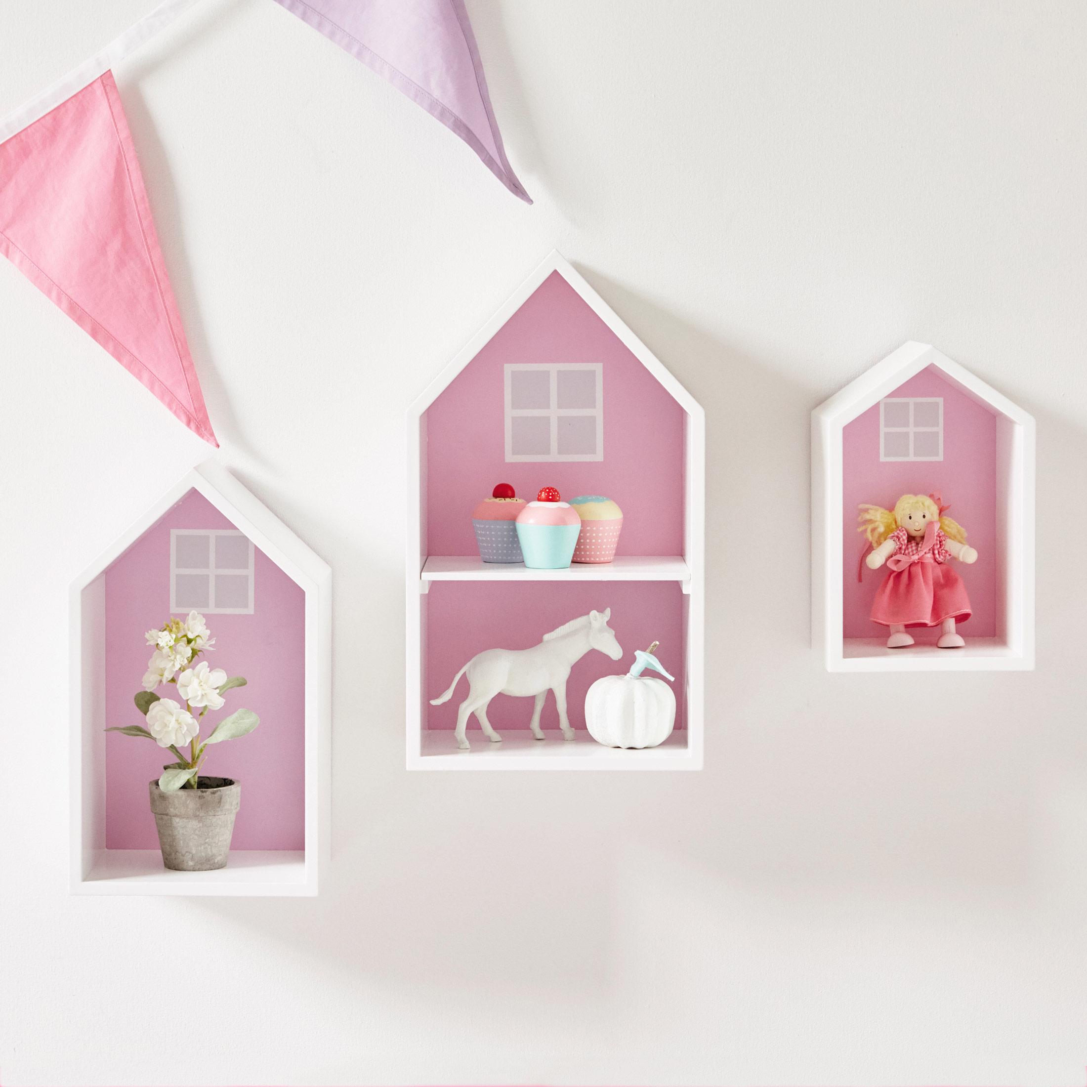 Wall Shelves Pink Piccolo House