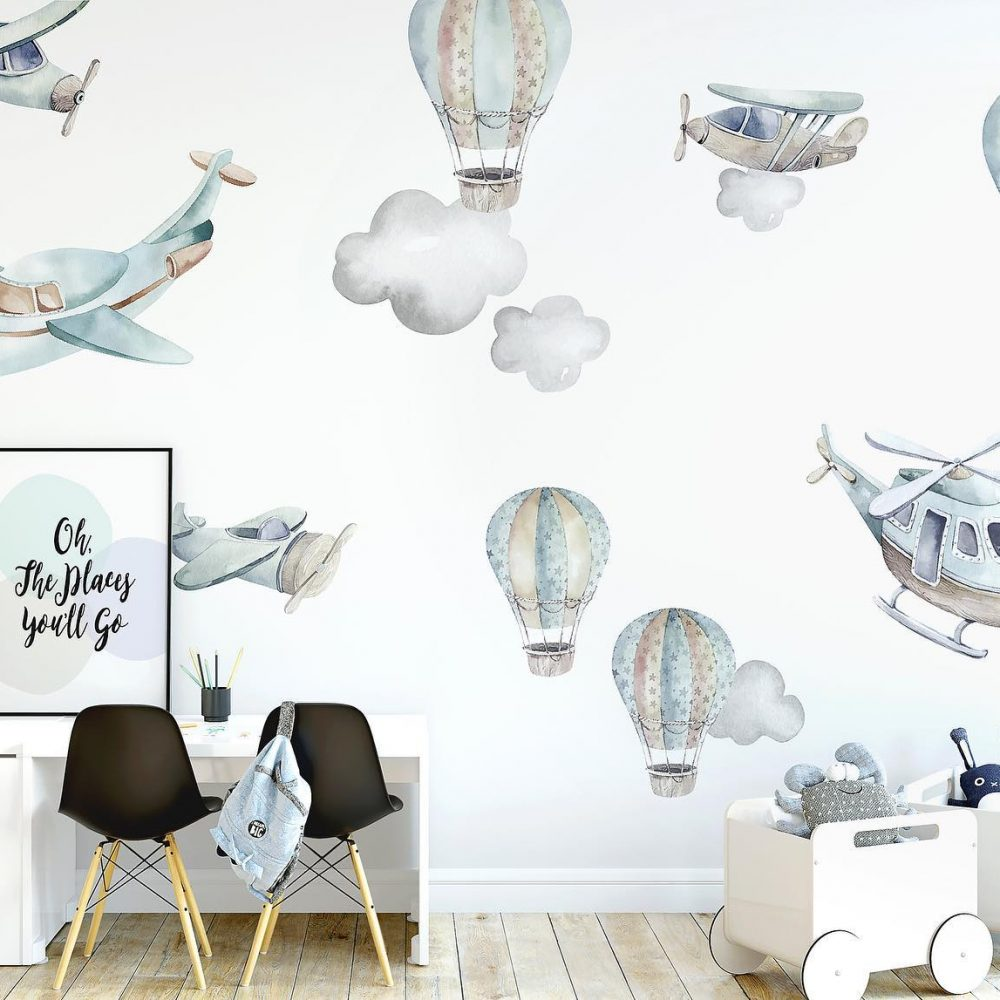 Kids bedroom stickers| Piccolo House