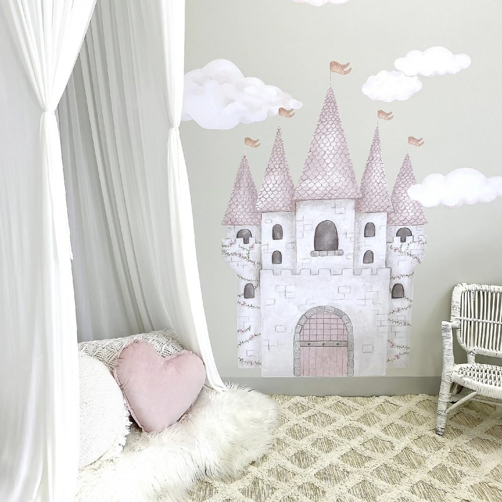 Childrens bedroom wall art stickers| Piccolo House