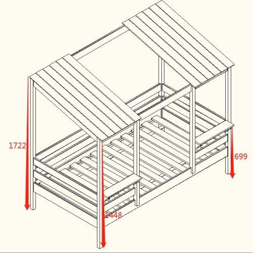Farmhouse Bed Dimension