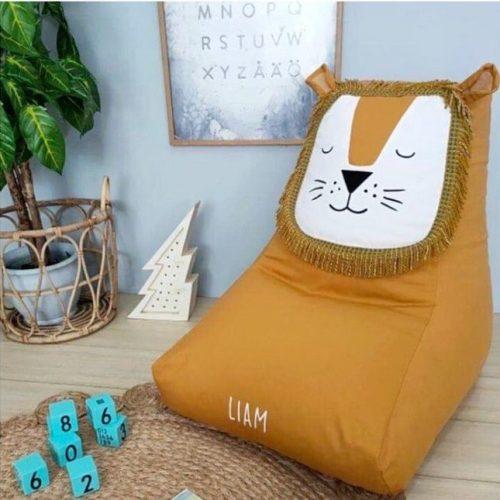 Lion bean bag chair
