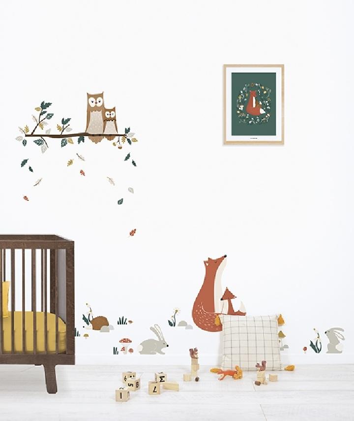 Nursery wall stickers| Piccolo House